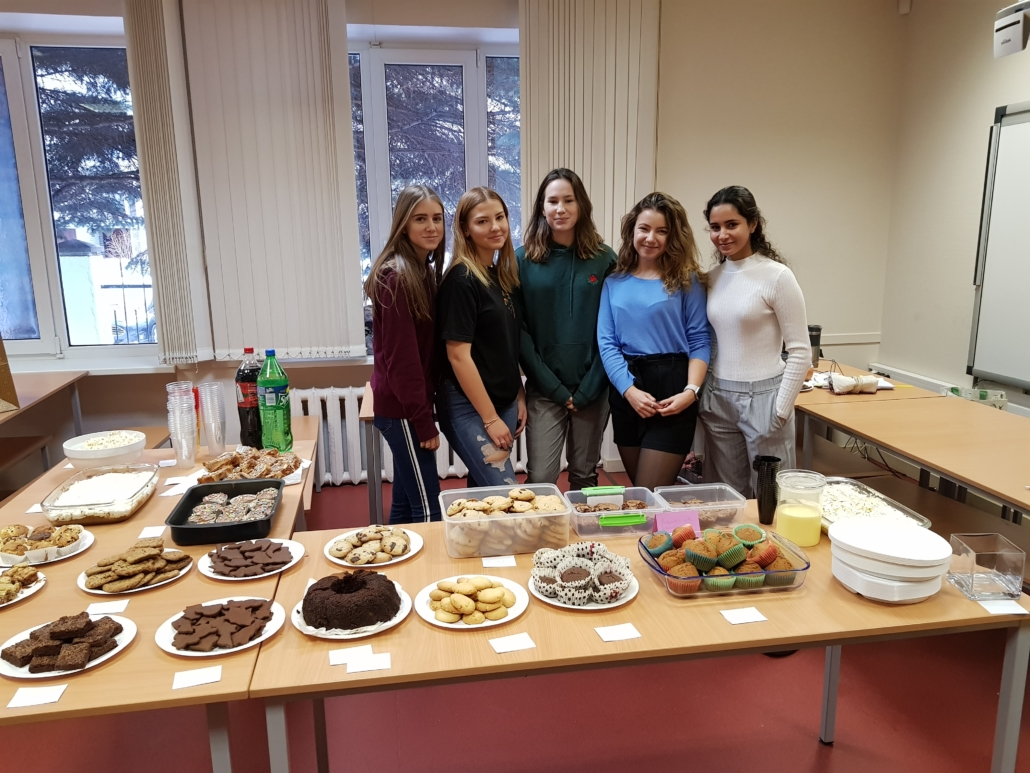 Bake sale fundraising fora local orphanage